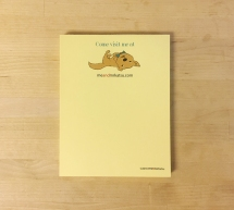 Mr Katsu Blog Comic Note Pad